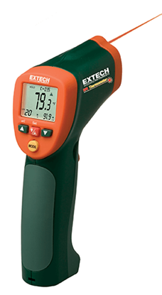 Picture of Extech Instruments (USA) 42515 (-50...+800) İnfrared (Temassız) ve K tipi (Temaslı) Termometre